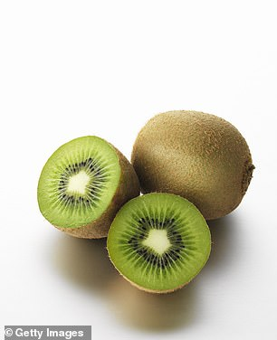 Kiwis are bursting with vitamin C and fiber and are a superfood for sleeping