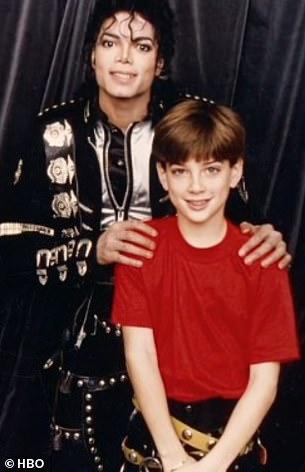 Michael Jackson and James Safechuck