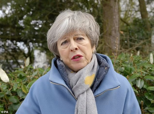 Some ministers have privately said that Mrs May must go in order to get her deal through and others expect it to be a matter of weeks