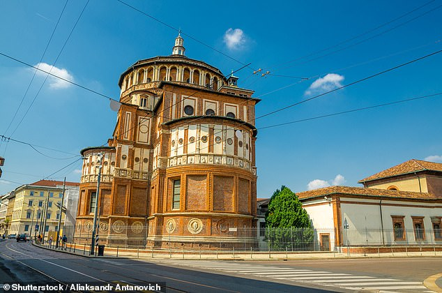 Santa Maria delle Grazie (above) is home to the mural of The Last Supper by Leonardo da Vinci