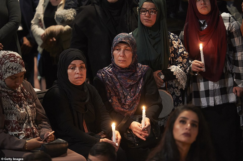 Mourners across Australia have gathered in major cities to pay their respects to victims of the Christchurch attacks