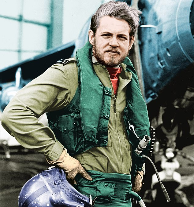 David Morgan, now 71, wasseconded to the Fleet Air Arm in April 1982 to fly Sea Harriers in the Falklands War