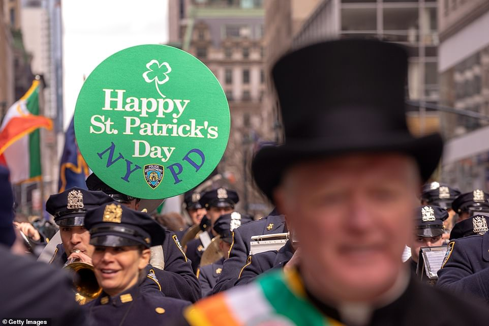 St Patrick's Day falls March 17 every year so cities celebrated a day early to allow for recovery the following day on Sunday