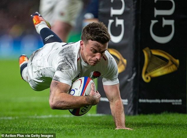 George Ford saved England from defeat with a late try in Saturday's 38-38 draw with Scotland