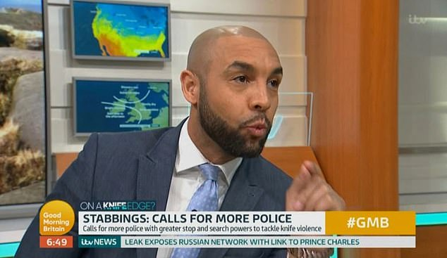 Alex Beresford (pictured above) had previously spoken out about crime in the UK