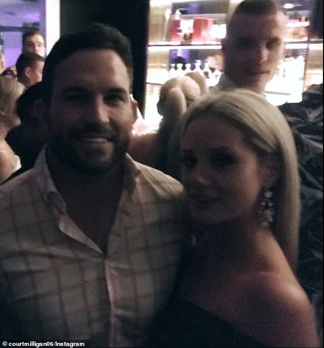 Married At First Sight EXCLUSIVE: Jessika Power and Dan Webb (both pictured) have proved they're still together after being photographed by a fan at a Brisbane bar on Saturday night
