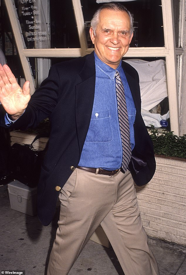 Beloved: Hatten (above in 1992) is survived by his partner of 50-years Pete Menifee, as well as beloved nieces and nephews