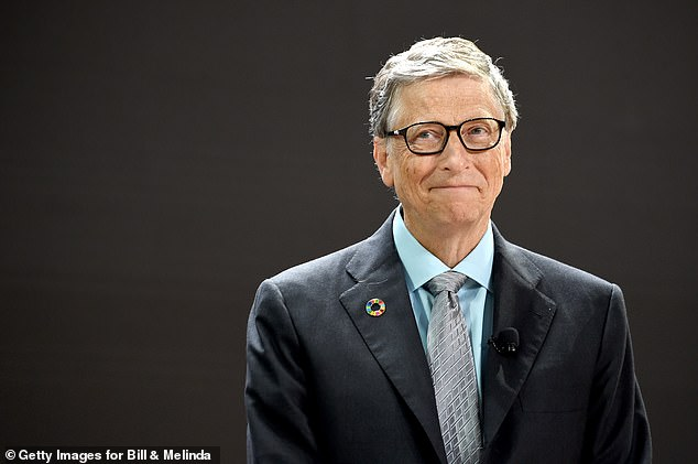 Microsoft co-founder Bill Gates (pictured) has become the world's second 'centi-billionaire' with a fortune of $100 billion