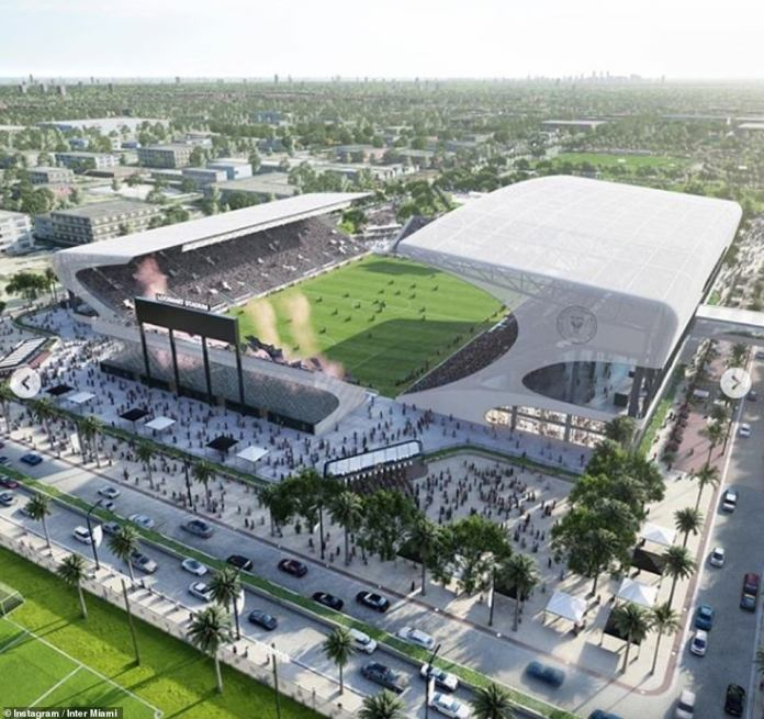 Inter Miami plans a site redevelopment of £ 45 million which will become the basis for the training and long-term club academy
