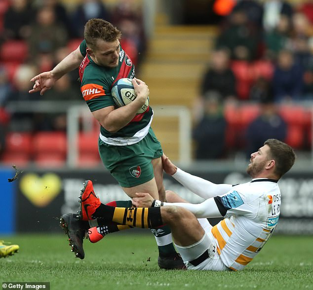 Leicester Openside flanker Will Evans, 22, made his Premiership debut in April 2016