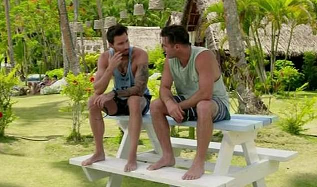Would you stay here? 'It's 40 degrees, they've probably all got Fiji belly, I'm not joking,' the reality starlet said (seen is a still from Bachelor In Paradise last year)