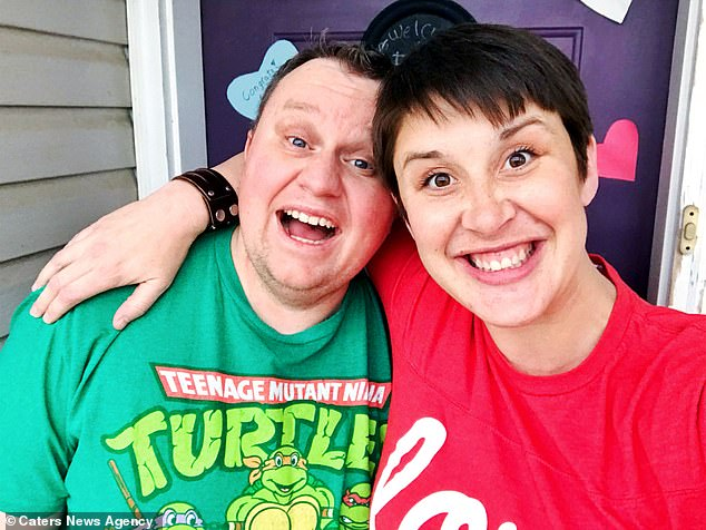 After increasing his sperm count via medication and one cycle of IVF, the pair were given the incredible news Jessica was pregnant in September 2018