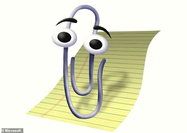 Pictured, the original Clippy.Eventually, after coming to be loathed by many, Clippy suffered its ultimate blow and was killed off by Microsoft entirely in 2007