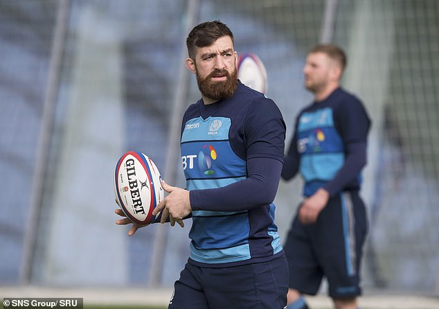 Flanker Gary Graham admitted he felt a sense of relief at finally declaring for Scotland