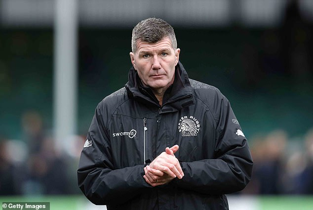 Exeter boss Rob Baxter has refuted the claim England have a mental weakness