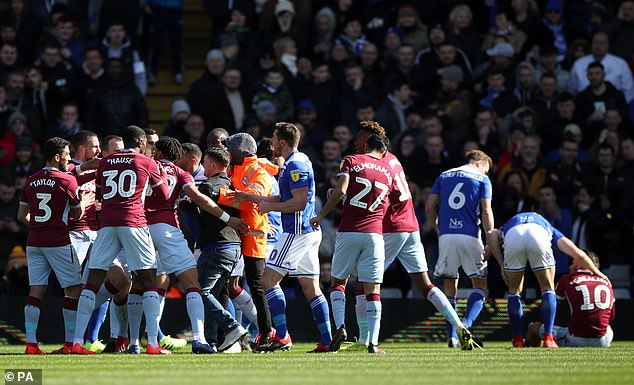 Grealish was attacked by a Birmingham City fan in the derby then scored the winner