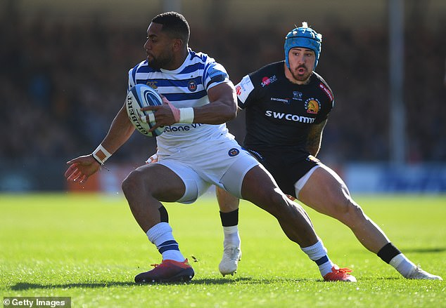 Jack Nowell outshone rival England wing Joe Cokanasiga and was heavily involved throughout