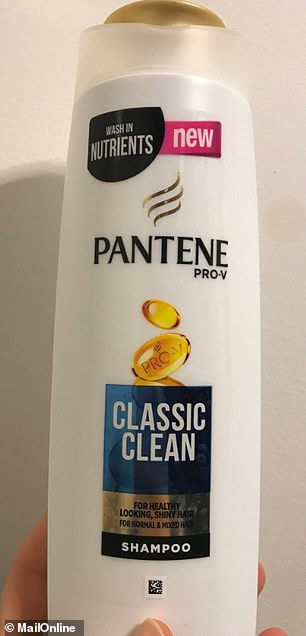 Pantene Pro-V Classic Clean Shampoo claims it will give you healthy-looking, shiny hair