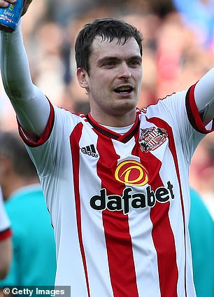 While behind bars, Johnson (pictured playing for Sunderland) is reported to have bought up property, registering it with relatives, in order to keep himself afloat following his release.