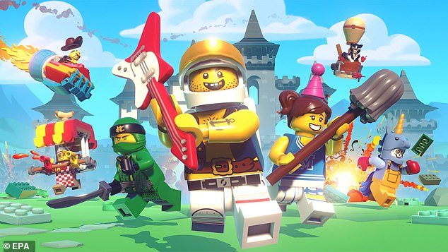 Apple Arcade, the firm's new game subscription service, will let users play games across mobile, desktop and Apple TV. It'll feature games from LEGO (pictured), SEGA and others