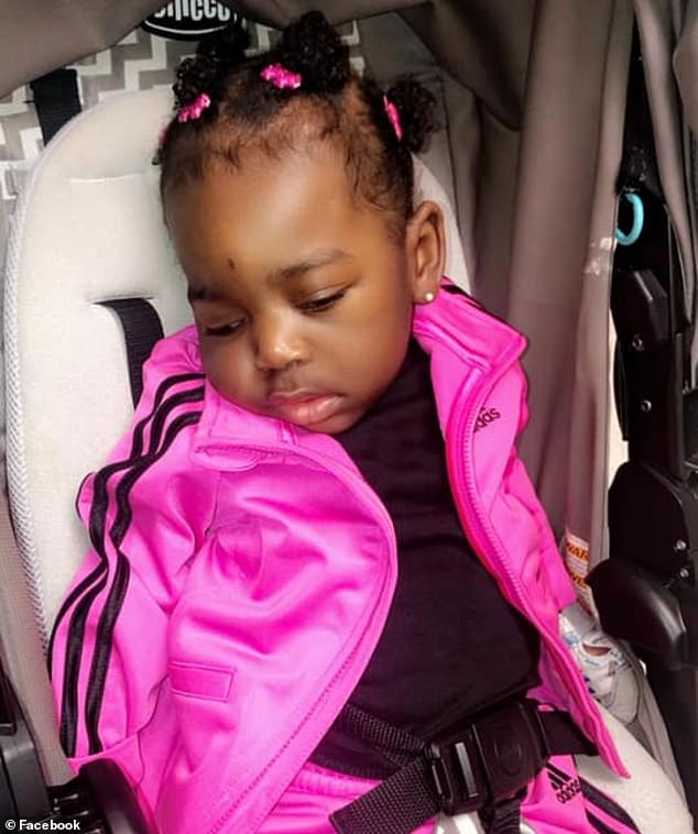 Aicardi syndrome is very rare disorder in which the tissue connecting the two halves of the brain is missing, which causes seizures. Pictured: Khloe