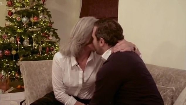 Throwback:Paul's mum Gaynor previously hit the headlines in 2016 during The Baby Diaries, when she kissed her then 27-year-old son on the lips
