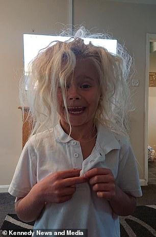 Wynter's wild hair