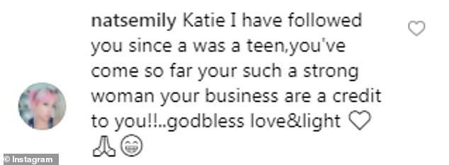 Keen:However many were brimming with enthusiasm regarding the opportunity to meet Katie and her children