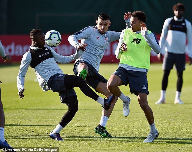Naby Keita, Dejan Lovren and Trent Alexander-Arnold are hoping to prove their fitness