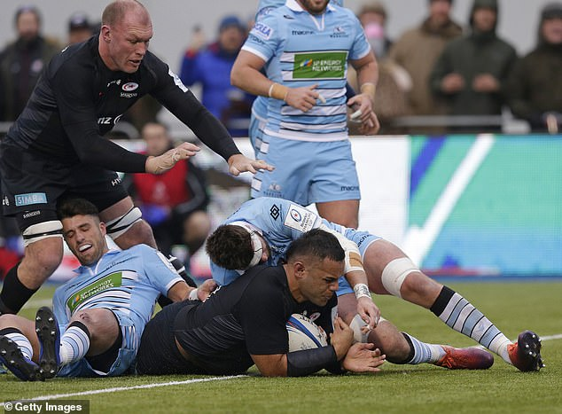 Tempers flared between Glasgow and Saracens during their pool matches earlier this season
