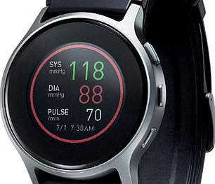 The HeartGuide smart watch takes your blood pressure without any discomfort