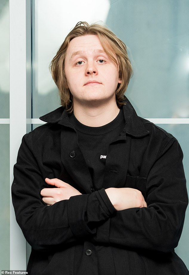 Lewis Capaldi jokes that after five weeks at the top of