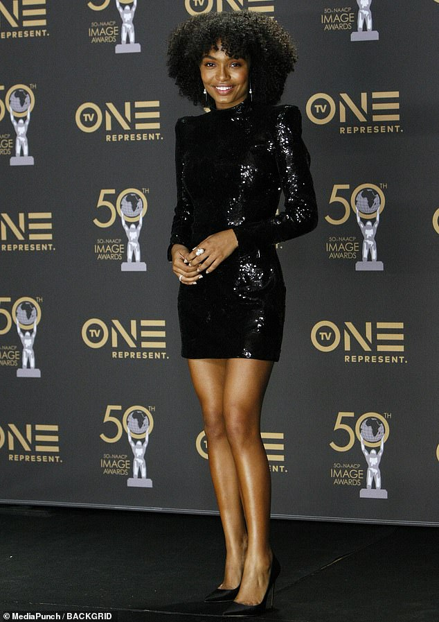 Critical recognition: Yara was nominated for Outstanding Actress in a Comedy Series for her leading role in Grown-ish.The series is a spin-off of Black-ish. She plays Zoey Johnson, the oldest daughter of an upper-middle class black family