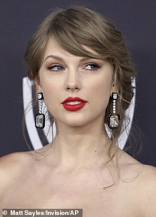 The March 7 incident marked the third time 22-year-old Alvarado had invaded Swift's home. The pop star is pictured in January