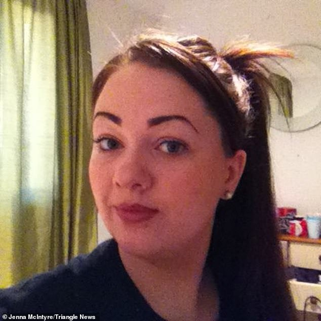 Miss McIntyre, mother to Eilidh, seven, and Alfie, three, only found out about her the error affecting her father when she was contacted by a newspaper on Friday