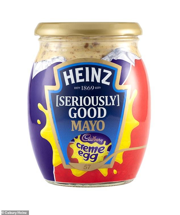 Cadbury y Heinz han colaborado en un Creme Egg Mayo y Femail lo puso a prueba. La mayo estará disponible para las pruebas del 11 al 13 de abril en Londres, justo a tiempo para la Pascua.