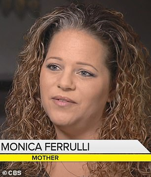 Monica Ferrulli's son Mason was diagnosed with a brain tumor in 2016