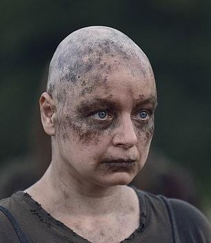 Picturedin season 9 of AMC's The Walking Dead
