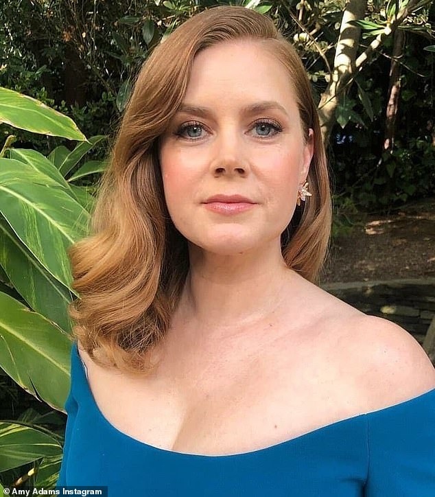New role: Amy Adams has signed on to star in an adaptation of Hillbilly Elegy for director Ron Howard and the Netflix streaming service