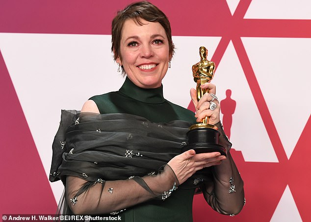 Talented: The Riot Club actor, 28, told Digital Star that the acclaimed actress was unlikely to change after her Oscar win for The Favourite earlier this year (pictured at the Oscars in January)