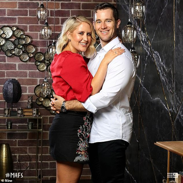 Boycott:The reality star joins the likes of co-star 'ex-virgin' Matthew Bennett (pictured with 'ex-wife' Lauren Huntriss, who admitted he doesn't watch the show at all as it gives him 'anxiety'