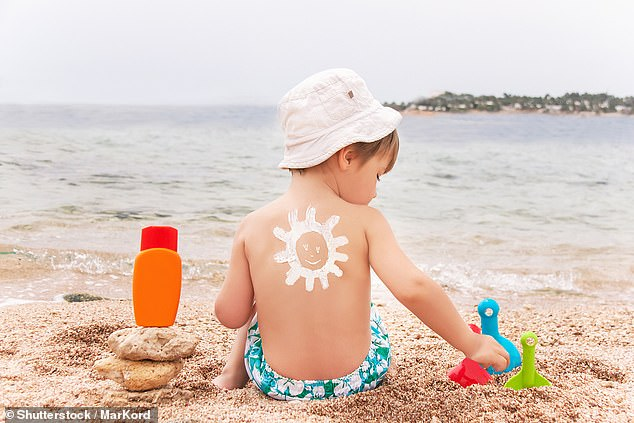 Gone are the days when sunburned children roamed the nation's beaches from May to September (stock image)