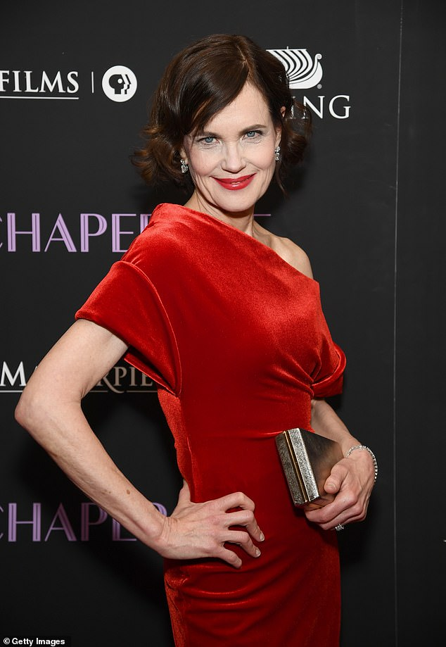 The Downton Abbey star, 57, practises yoga to stay in shape and walks in parks near her West London home (pictured at The Chaperone New York premiere at the Museum of Modern Art last month)