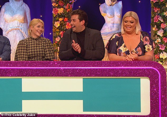 Cheeky: During her appearance on Keith Lemon's show, the 36-year-old self-professed 'diva' made the startling confession that her dramatic fall on Dancing On Ice had 'really affected' things in the bedroom