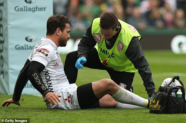 The fly-half is in great form and would be a huge loss if he cannot play against Bath