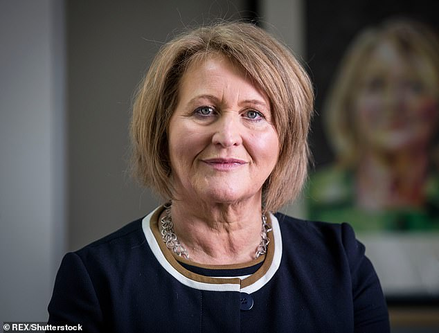 Anne Longfield (pictured) said clinics were struggling to cope with an epidemic of self-harm, anxiety and depression, and are now turning patients away