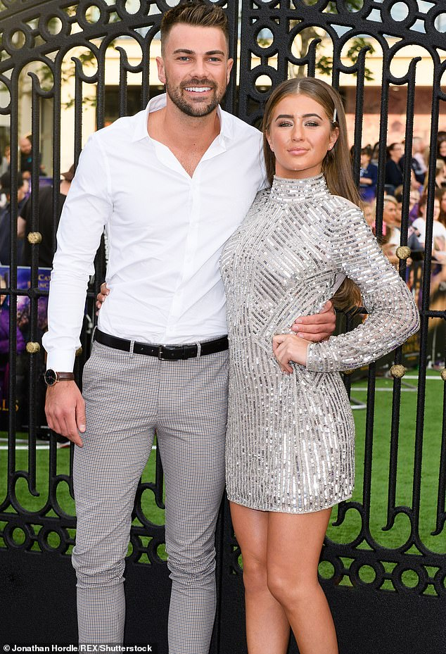 Previously: Meanwhile, Georgia and Sam Bird split up shortly after leaving the Love Island villa, yet not before moving in together to their very own love pad