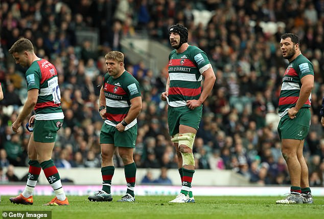 Leicester Tigers players and families have received 'vile and disgusting' abuse on social media