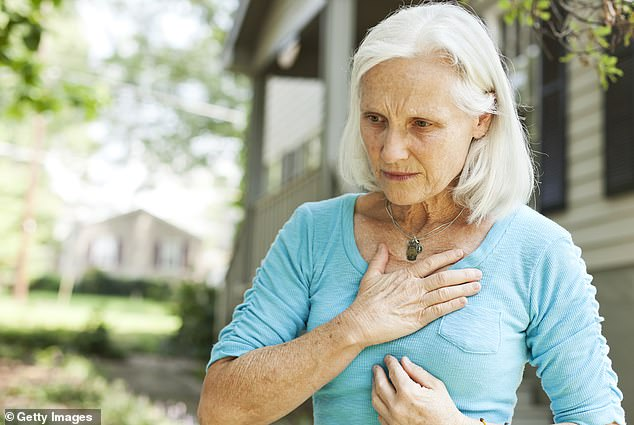A new study from Brigham and Women's Hospital in Boston, Massachusetts, has found that women with cholesterol 70 mg/dL were twice as likely to have a stroke compared to women with 100 mg/dL (file image)