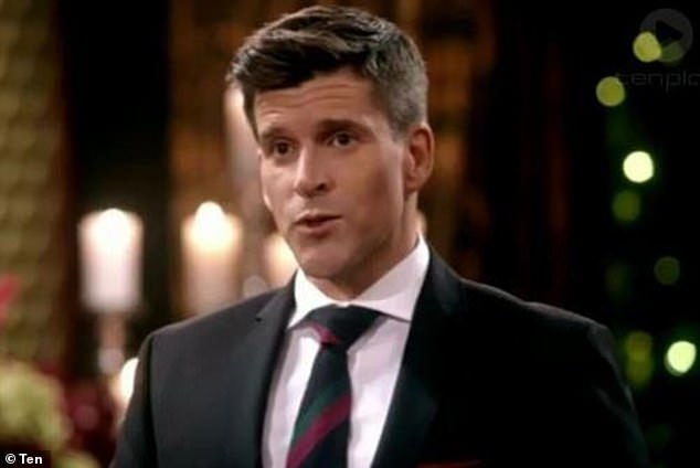 Hitting back: Osher Günsberg has hit back at fans who blasted Bachelor In Paradise for airing Richie Strahan and Alex Nation's 'heartbreaking' conversation